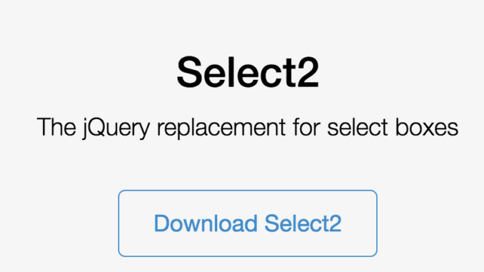Select menu replacement